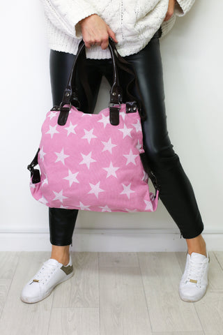 Scatter Star Bag - Pink