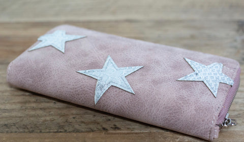 Claire Star Wallet - Rose
