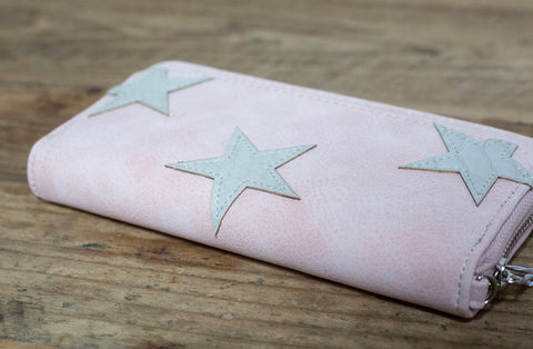 SECOND Claire Star Wallet - Pink