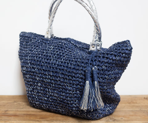 Sea Glimmer Beach Bag