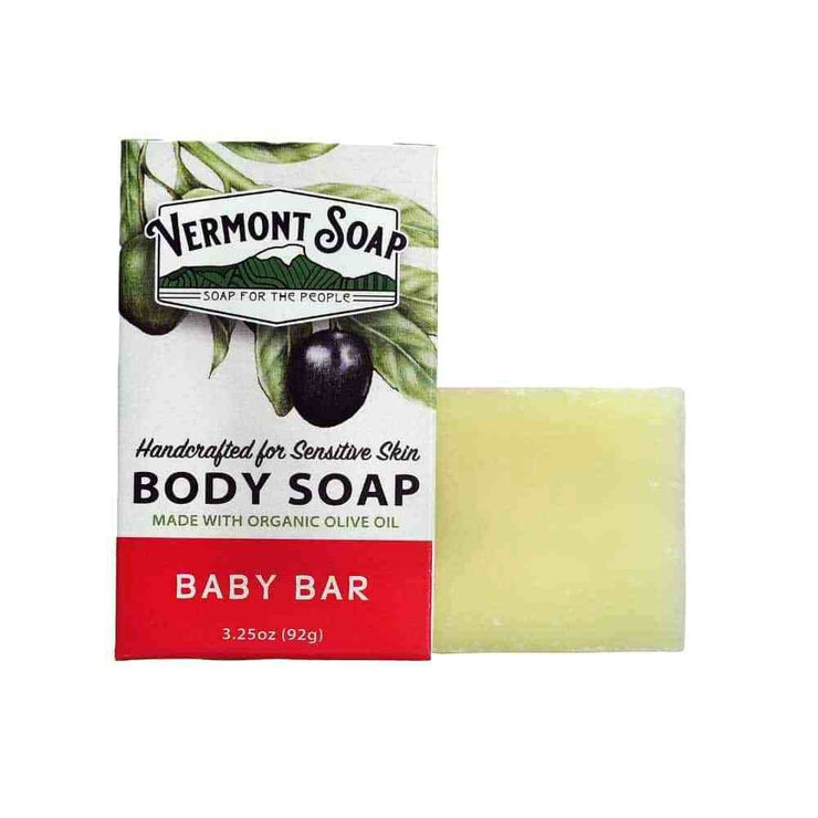 Vermont Hand Made Baby Bar Soap 3.5 Oz