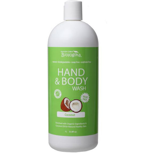 FRAGRANCE FREE HAND & BODY WASH