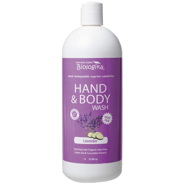LAVENDER HAND & BODY WASH