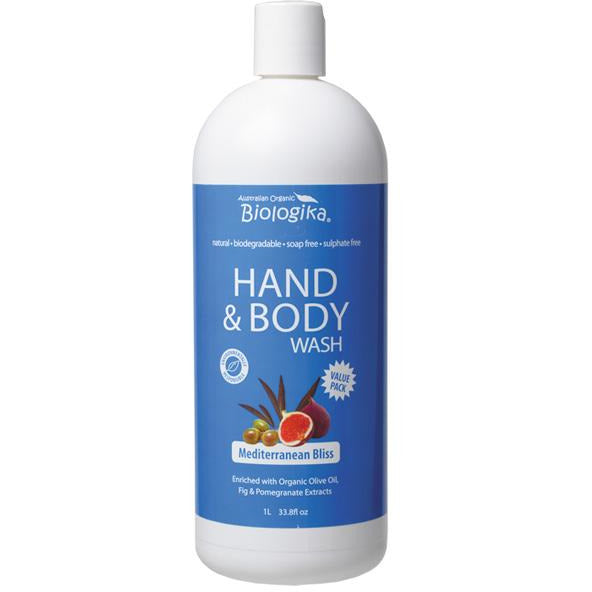 BUSH LEMON MYRTLE HAND & BODY WASH