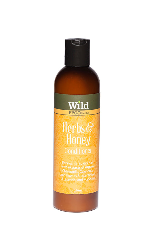 Wild – Herbs & Honey Shampoo and Conditioner for NORMAL TO DRY HAIR
