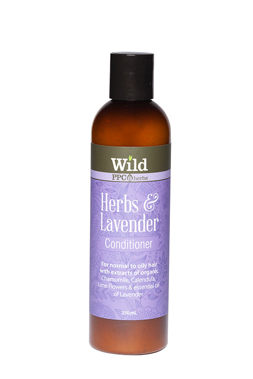 Wild – Herbs & lavender Shampoo and Conditioner for NORMAL TO OILY HAIR