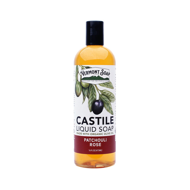Patchouli Rose Liquid Castile