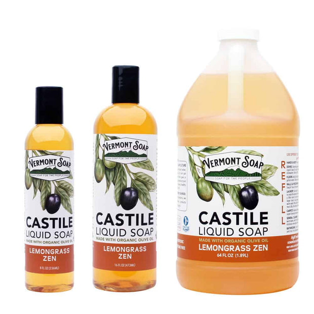 Lemongrass Zen Liquid Castile