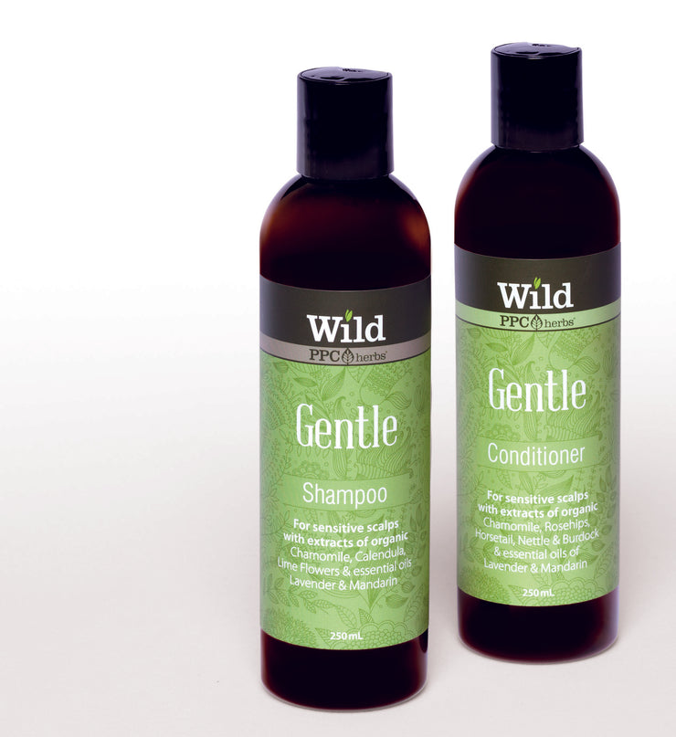Wild – Gentle Shampoo and Conditioner for SENSITIVE SCALPS HAIR