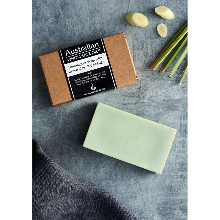 AWO Lemongrass Soap with Green Clay 140 g