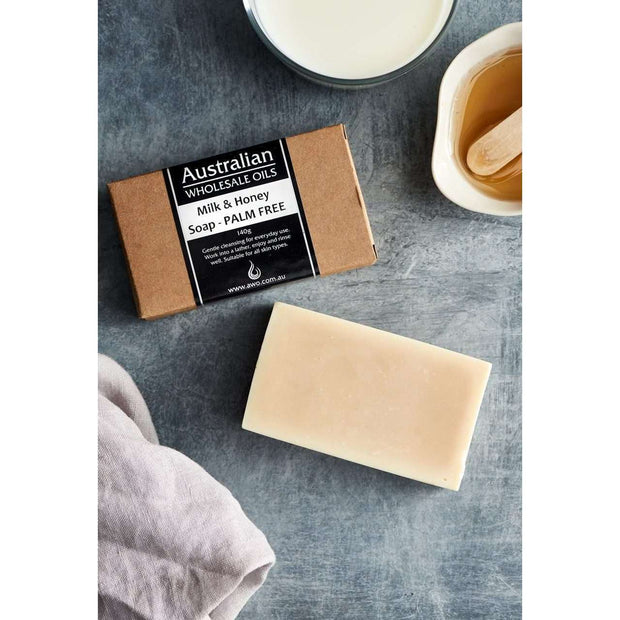 AWO Milk & Honey Soap 140g