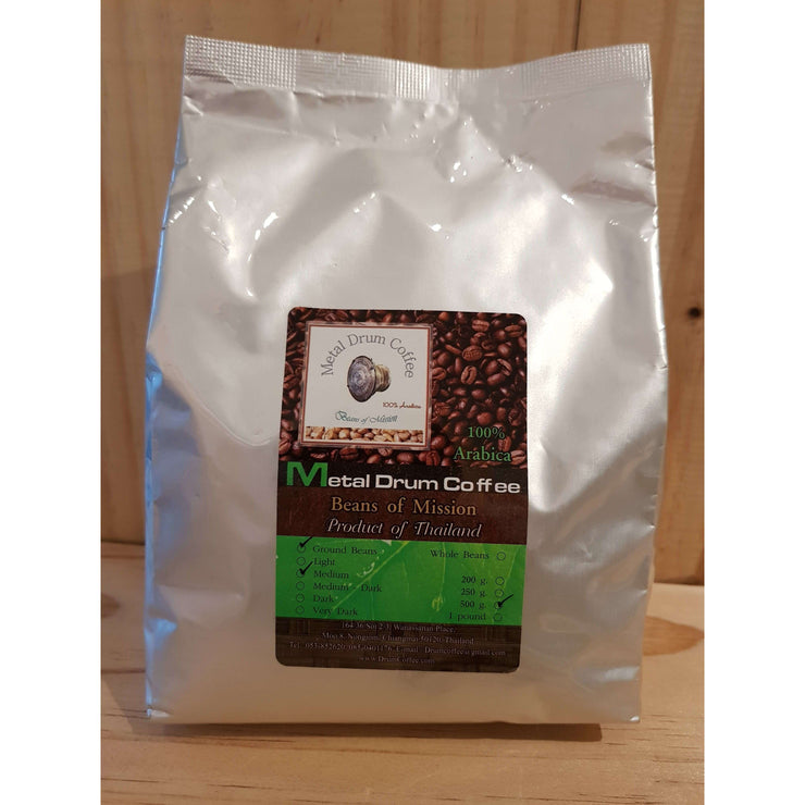 Metal Drum Coffee 500 gram