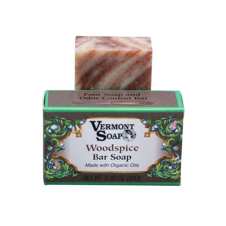 Vermont Woodspice Hand Made Bar Soaps 3.5 Oz