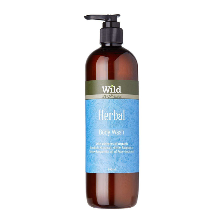 Wild Herbal Organic Body Wash 500 ml