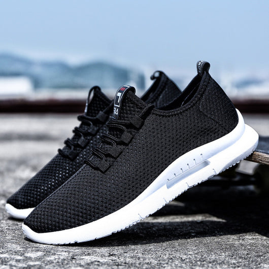 Running Shoes For Men 2018 Summer New Men Sneakers Lace Up Low Top
