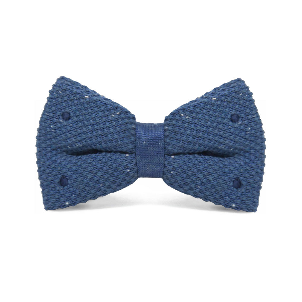 Bow Tie Knitted Blue - CoolMenClub UK