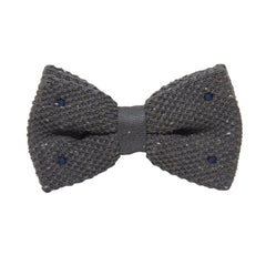 Bow Tie Knit Grey - CoolMenClub UK