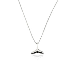 Silver Necklace Whale Tail - CoolMenClub UK