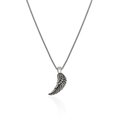 Silver Necklace Wing - CoolMenClub UK