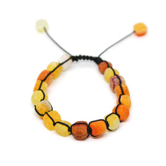 Jasper Stone Orange Yellow Color Bracelet