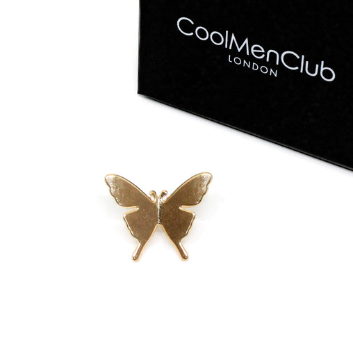 Gold Color Butterfly Brooch Pin