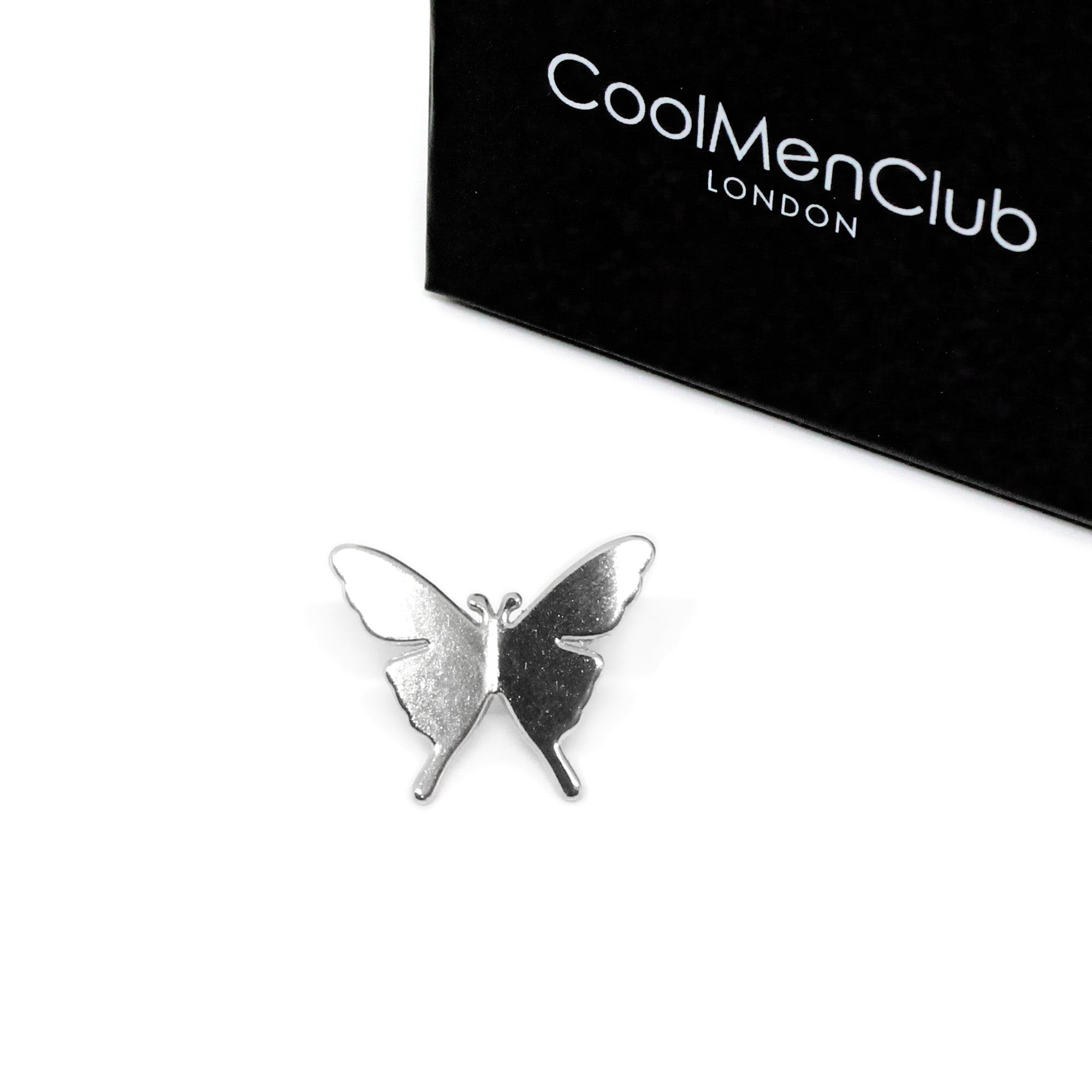 Silver Color Butterfly Brooch Pin