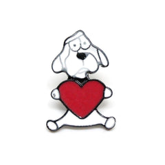 Pin Badges Brooch Dog