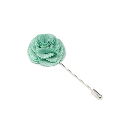 Turquoise Color Flower Lapel Pin Brooch