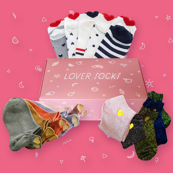 Socks Love Coffret™️(x15 Pairs) Unique Size