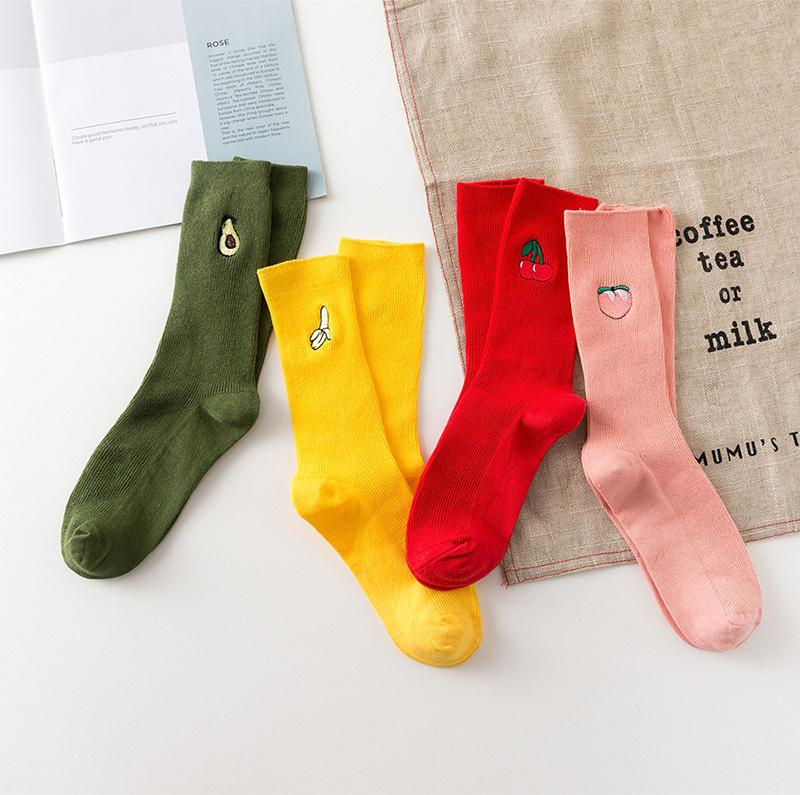 Socks Set Fruits™️(x4 Pairs)