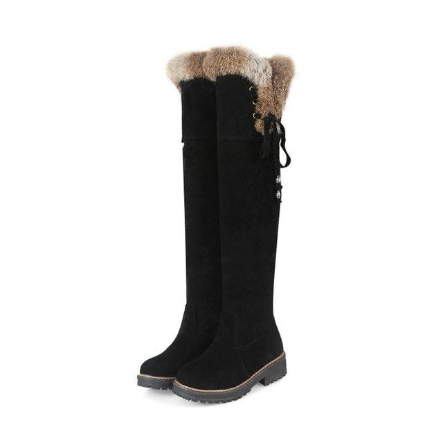 New Fashion Thigh High Women Winter Snow  Boots - Brows Forever