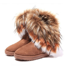 Load image into Gallery viewer, New 2019 Velvet Warm Furry Winter Snow Boots - Brows Forever