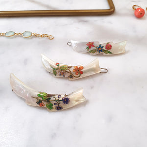 Mother of pearl hair clip