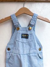 Load image into Gallery viewer, Vintage baby blue corduroy overall size 6/9M