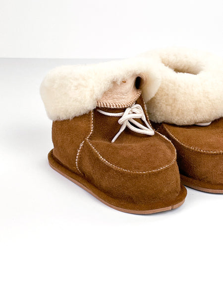 Sheepskin shoes