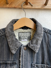 Load image into Gallery viewer, Vintage striped sherpa jacket size 3