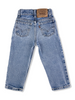 Vintage orange tab jeans size 4Y