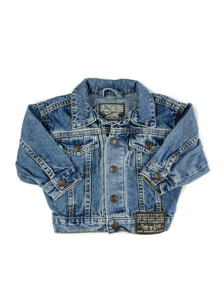 Trucker jacket size 12M