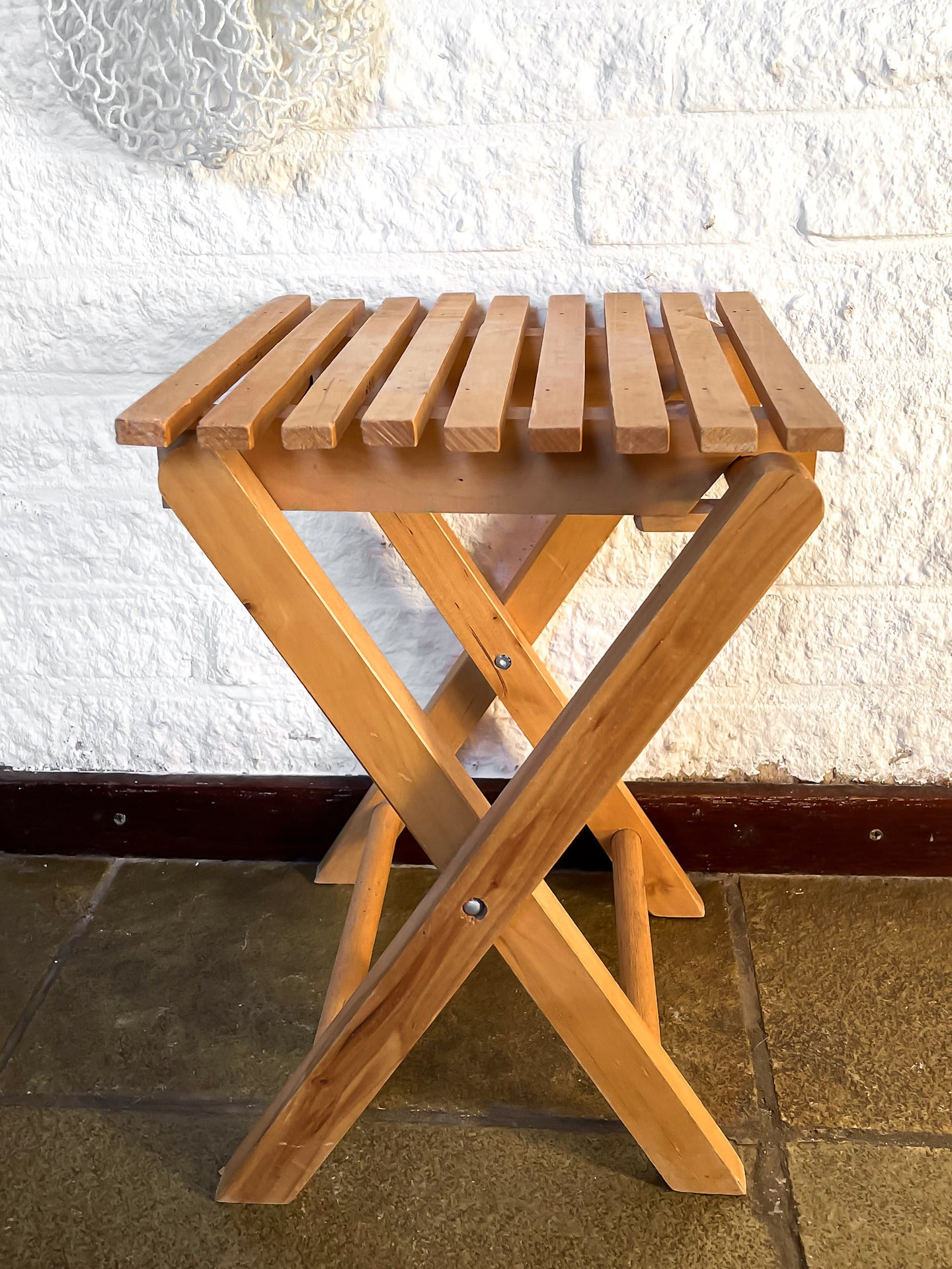 Vintage kids folding table