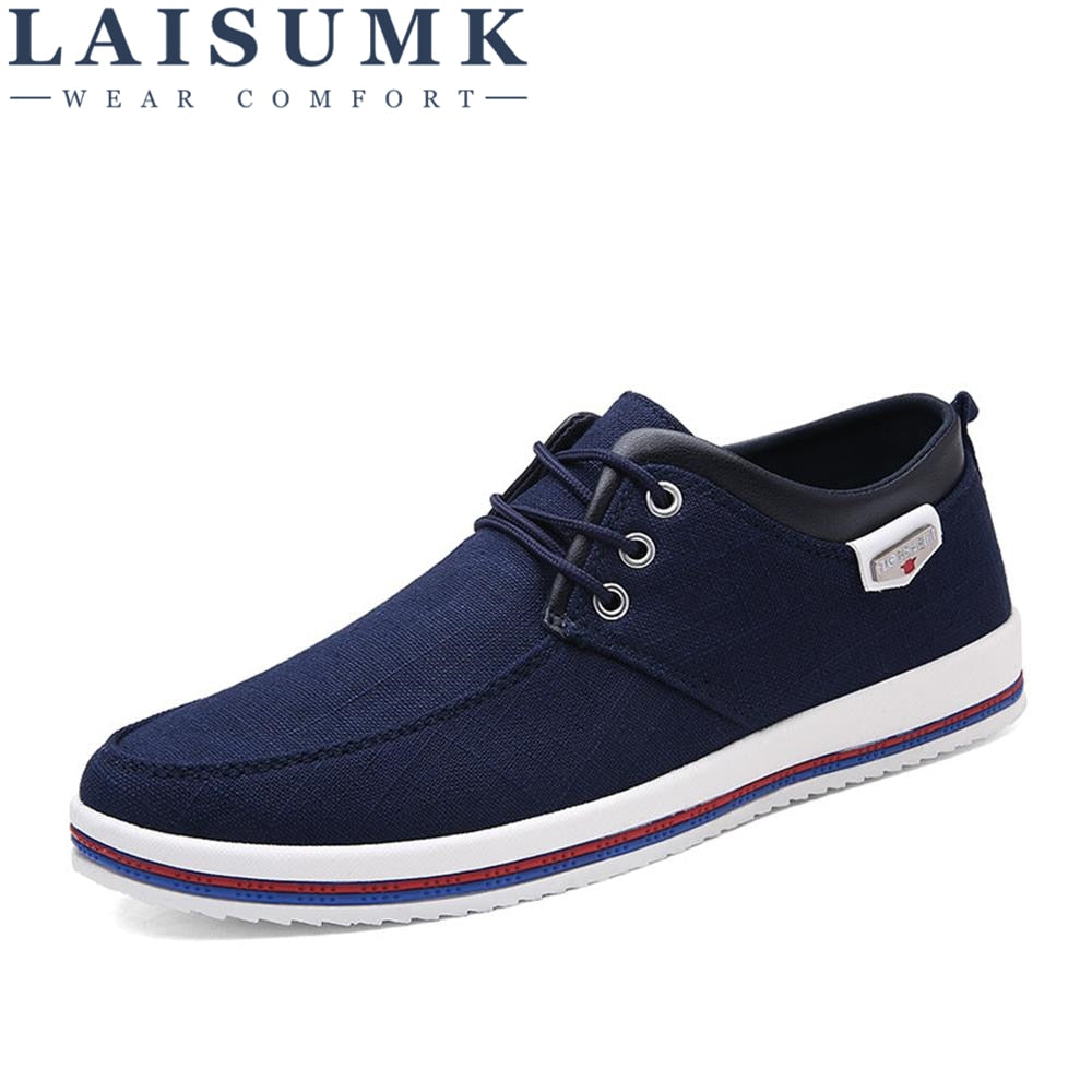 LAISUMK 2019 Men's Shoes Plus Size 39-47 Men's Flats,High Quality Casual Men Shoes Big Size Handmade Moccasins Shoes For Male - Meyar