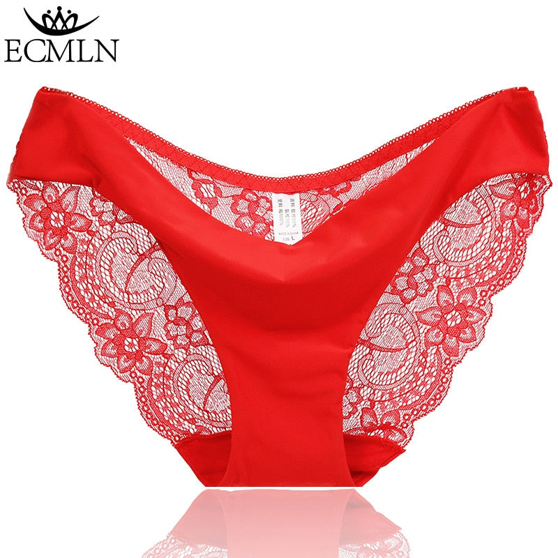 RE Ladies underwear woman panties fancy lace calcinha renda sexy panties for women traceless crotch of cotton briefs hot sale - Meyar