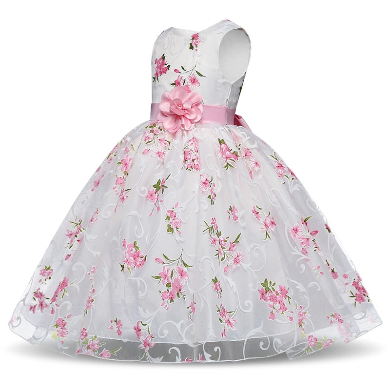 Girl Dress Birthday Party Costumes, Children Clothing 8T - Meyar