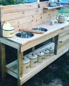 Twin Dimity Mud Kitchen $590