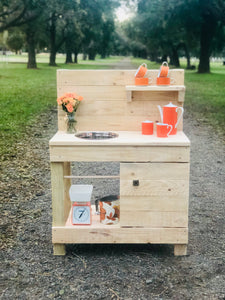 Mini Dimity Mud Kitchen this one @ 70cm bench height