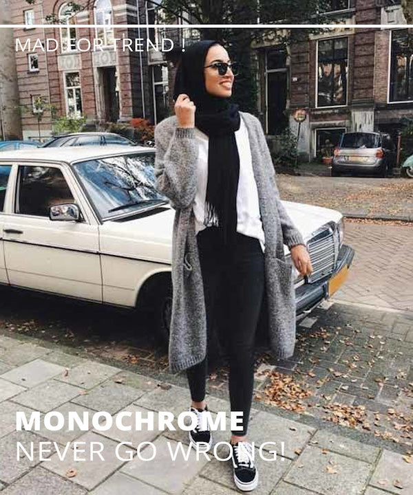 Monochrome never go wrong !