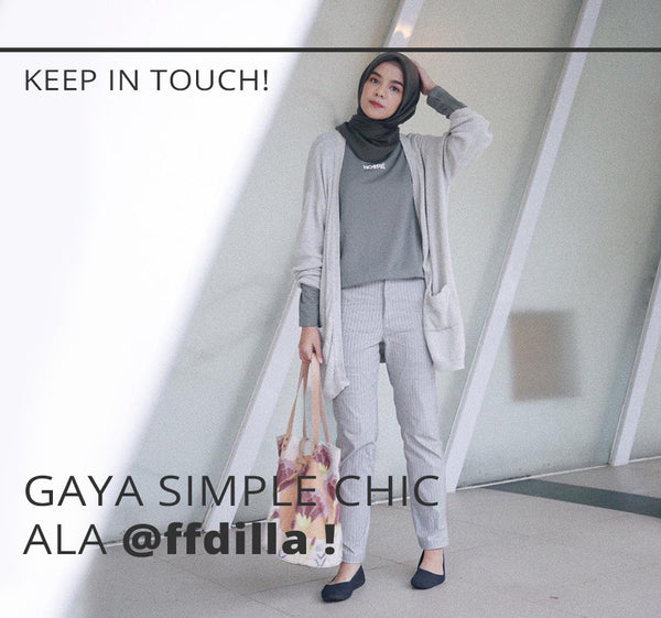 Gaya Simple Chic Ala @ffdilla