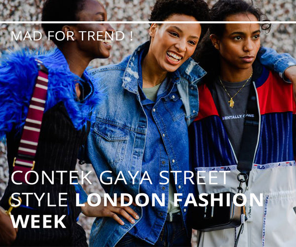 Contek Gaya Street Style London Fashion Week 2019