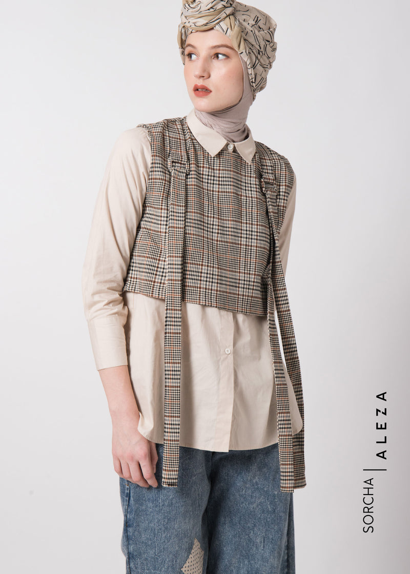 Sivka Shirt Set Brown