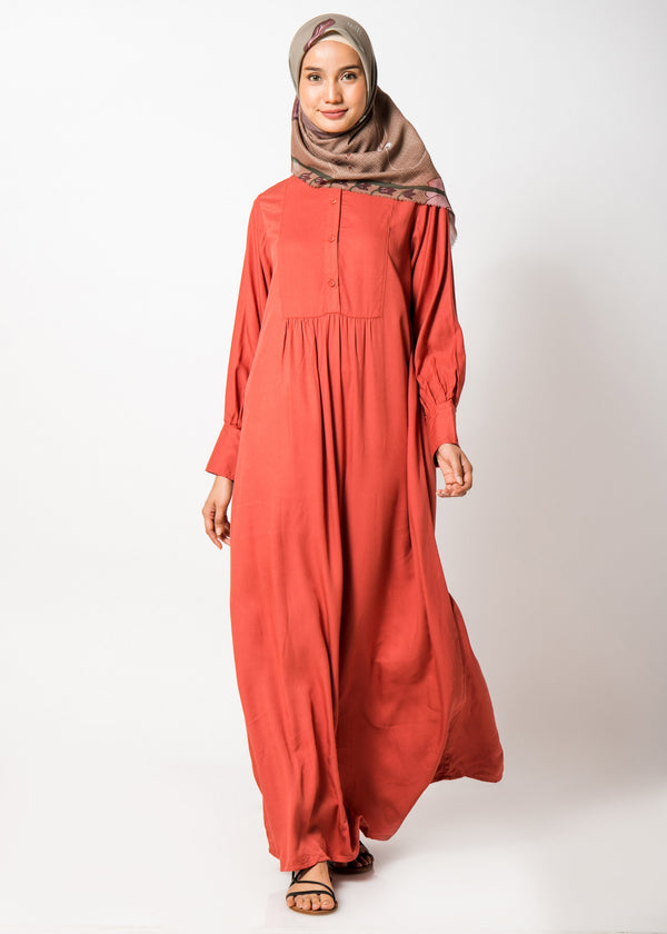 Ghauri Dress Orange
