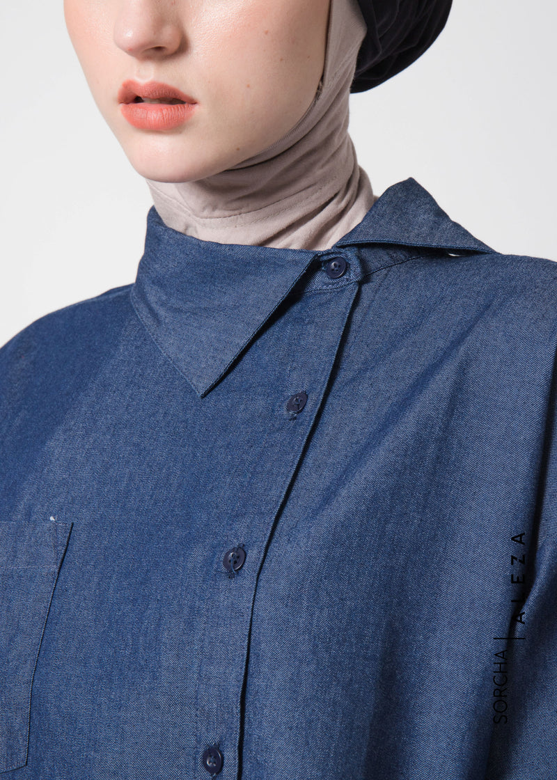 Serra Shirt Denim Blue